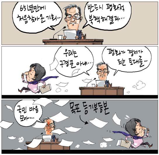 [국민만평-서민호 화백] 2019년 1월 22일 기사의 사진