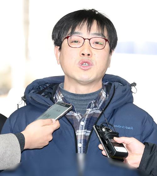 [포토] 김수억 비정규직 지회장 영장 기각 기사의 사진