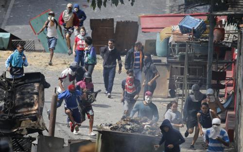 베네수엘라 군인 27명 쿠데타 기도… 정부군에 진압당해 기사의 사진