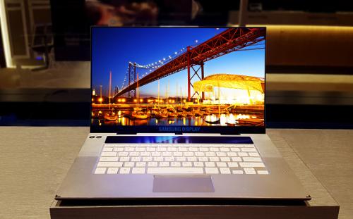 삼성디스플레이, 노트북용 OLED 세계 최초 개발 기사의 사진