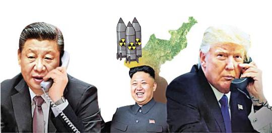 트럼프는 왜 북·미 담판에 시진핑을 부를까… 정치적 빅이벤트?  대북 제재 구멍 막기? 기사의 사진