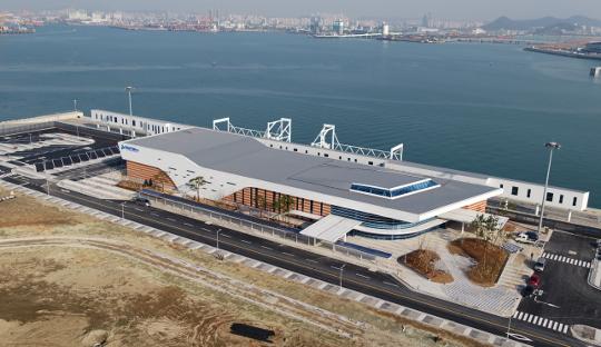 [이제는 지방시대-인천] 인천항 새 랜드마크 '크루즈 전용 터미널' 4월 개장 부푼 꿈 기사의 사진