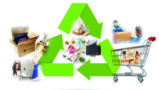 """[And 라이프] """"착한 소비자를 잡아라""""… 유통가, 친환경 전략에 사활 기사의 사진"""