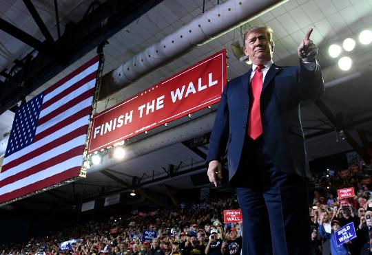 장벽예산 협상 잠정 타결… 트럼프 수용 여부 관건 기사의 사진