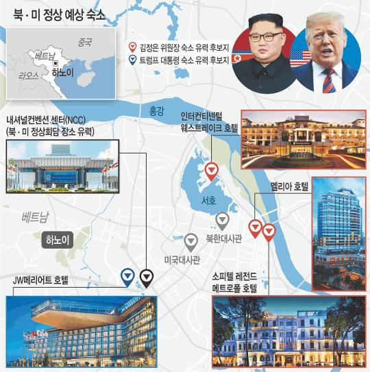 김창선, 메트로폴 호텔 연이틀 찾아 김정은 숙소 유력 기사의 사진