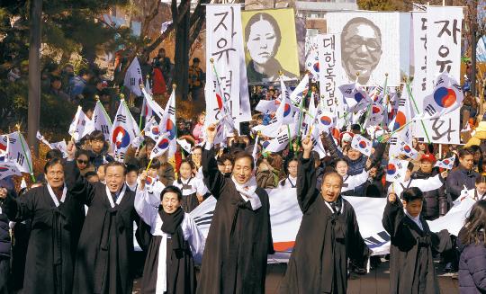 저항의 역사 한복판에 서 있던 그리스도인들 기사의 사진
