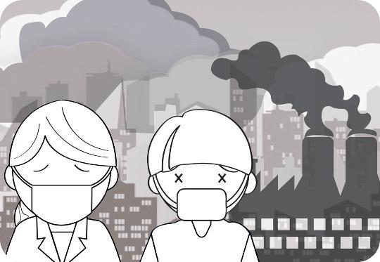 [하경대의 건강 칼럼] 숨 쉬는 것이 두렵다… 미세먼지, 각종 질병 일으켜 기사의 사진