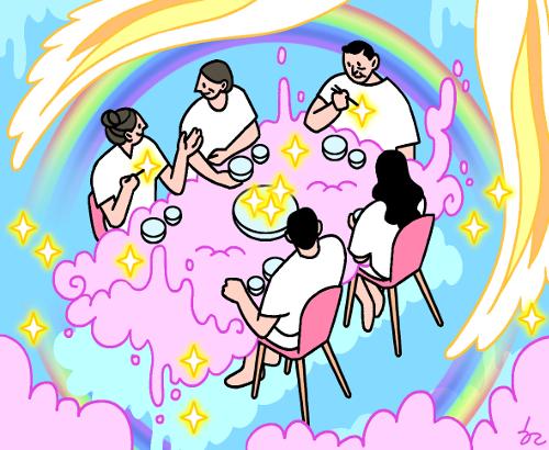우리 집 식탁이 천국이라면